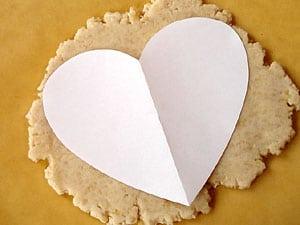 Ein Herz aus Marzipan