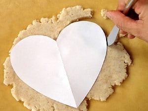 Rezept für ein gebackenes Herz