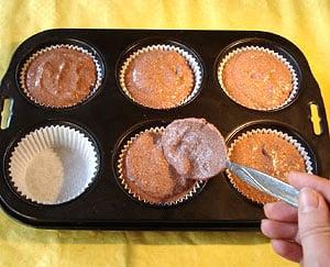 Schoko Bananen Muffins