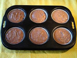 Rezept für Schokoladen Muffins